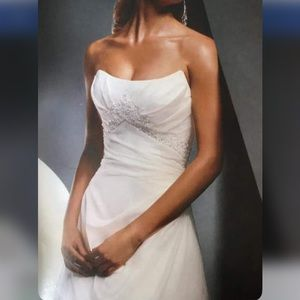 ZURC White Wedding Gown